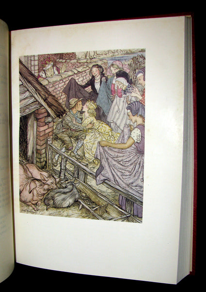 1932 Rare First Edition - Andersen's Fairy Tales illustrated by Arthur RACKHAM.