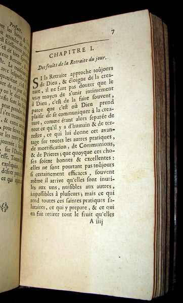 1697 Scarce French Book - L'ÉPOUSE AU DÉSERT - The Wife at the Desert. Meditations.