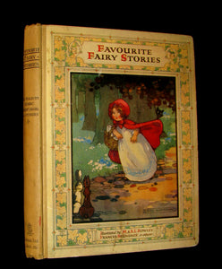 1910 Scarce Book - FAVOURITE FAIRY STORIES Re-told by Edric Vredenburg. Illustrated.