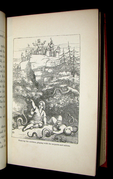 1890 Scarce Victorian Book - The Doyle Fairy Book Consisting of Twenty-Nine Fairy Tales with illustrations by Richard Doyle.