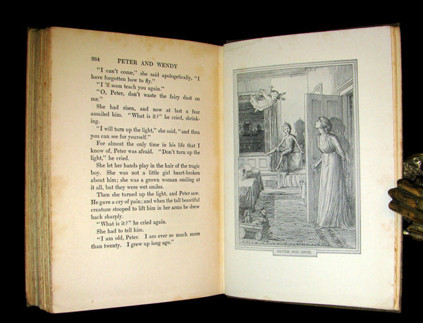 1911 Rare First Edition - PETER PAN - Peter and Wendy by James Matthew Barrie.