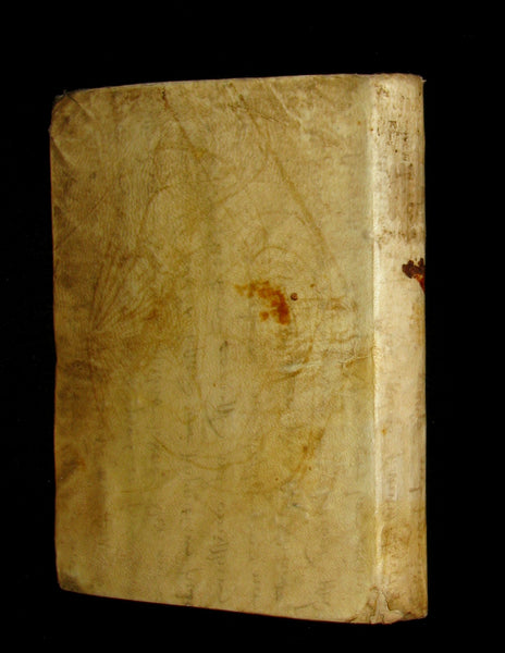 1621 Scarce Latin vellum Book ~ OVID's Heroines - HEROIDES EPISTOLAE (Letters of Heroines).