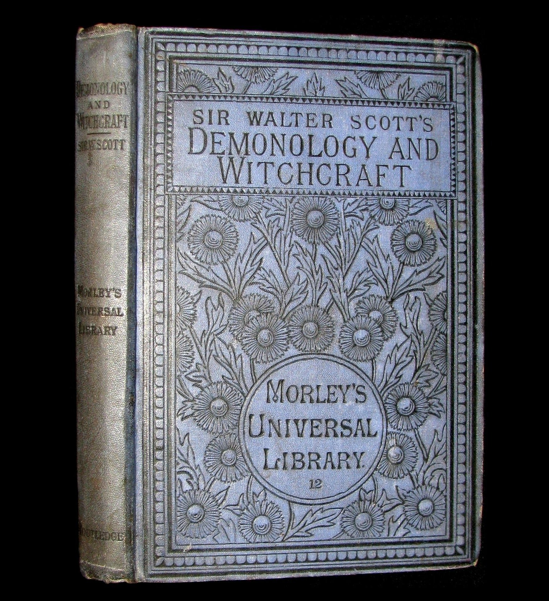 1884 Rare Edition  - Demonology & Witchcraft - WITCHES & FAIRIES by Sir Walter Scott. James B. Findlay Copy.