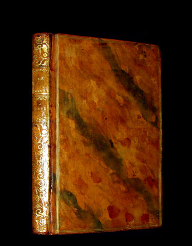 1770 Scarce French Book - Musketeer Dorat's TALES and Poems illustrated by Eisen.