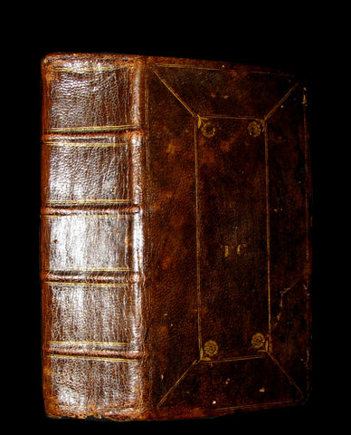 1661 Rare Latin Bible - Biblia sacra sive Testamentum by Evan Tyler King's Printer in Scotland.