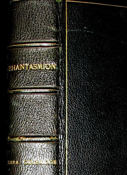 1874 Rare Victorian Book - PHANTASMION, a FAIRY TALE by Sara Coleridge. Bound by the Rose bindery. Signed by Lord Coleridge.
