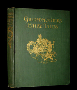 1915 Rare 1stED Book - Charles Robert-Dumas' FAIRY TALES - GRANDMOTHER'S FAIRY TALES.
