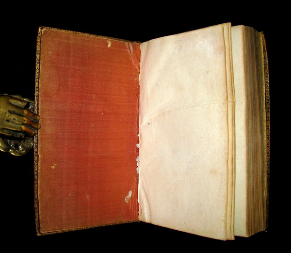 1698 Rare French Latin Book ~ The Office of Holy Week in Latin & French. L'Office de la Semaine Sainte.