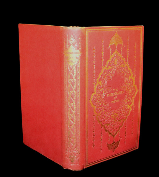 1913 Rare Book - THE ROSE GARDEN OF PERSIA by Louisa Stuart Costello. Persian Poets.