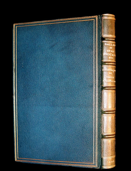 1892 Scarce 1stED Bound by Ramage - The Ballad of Beau Brocade And Other Poems of the XVIIIth Century.