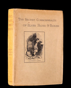 1893 Scarce Book - The Secret Commonwealth of Elves, Fauns & Fairies by Robert Kirk.