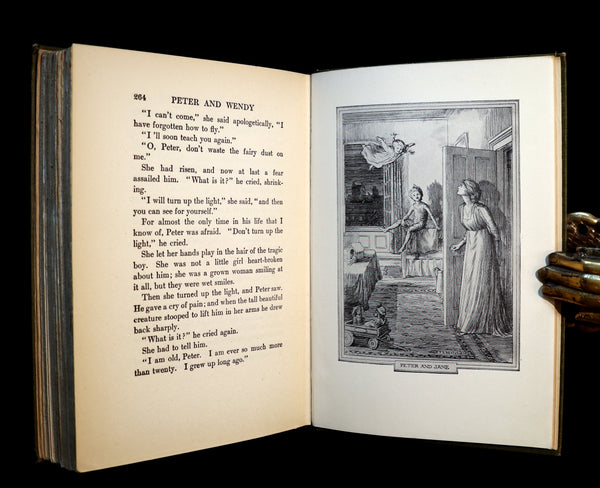 1911 Rare 1st Edition Book  - PETER PAN - Peter and Wendy by James Matthew Barrie.