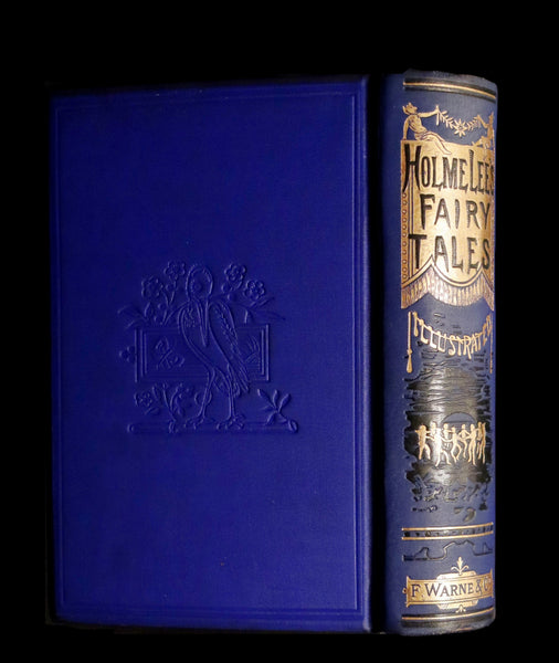 1892 Rare Victorian Book - Holme Lee's FAIRY TALES illustrated.