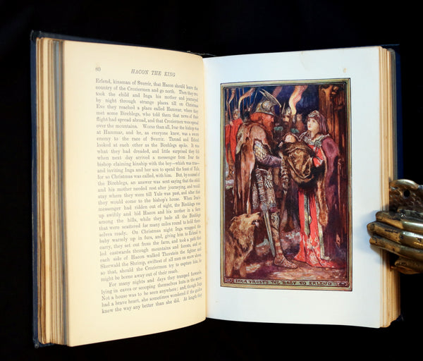 1908 Rare 1stEd Book - THE BOOK OF PRINCES & PRINCESSES by Mrs. Lang, editor Andrew Lang.
