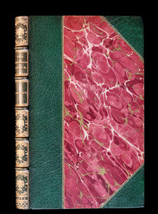 1832 Beautiful Tout Binding - The NEW BATH GUIDE, COLOR Illustrated by Cruikshank.