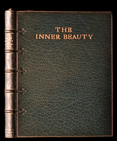 1913 Rare Illustrated Edition bound by Sangorski - The INNER BEAUTY - Spiritual essays by Maurice Maeterlinck.