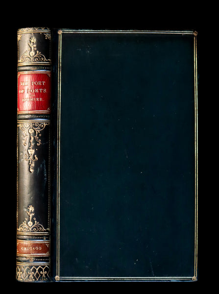 1890 Scarce Book - The Love Verse of Edmund Spenser bound by SANGORSKI & SUTCLIFFE.