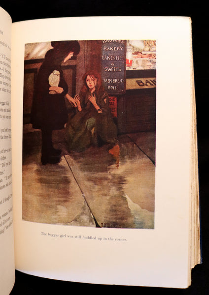1905 Scarce 1stED Book - A LITTLE PRINCESS by Frances Hodgson Burnett illustrated by Ethel Franklin Betts Bains.