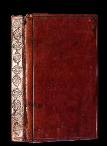 1728 Scarce Latin Book - The Sacred Heart of Blessed Virgin Mary or the sum of the Sanctity by Giovanni Pietro Pinamonti.