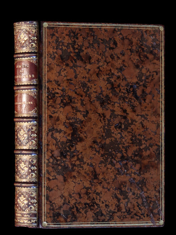 1849 Scarce 1stED - bound by Riviere - THE MAGIC OF KINDNESS illustrated by Cruikshank.