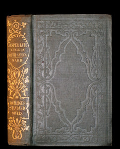 1852 Rare Book - Jasper Lyle a Tale of Kafirland - 1st English novel set in South Africa.