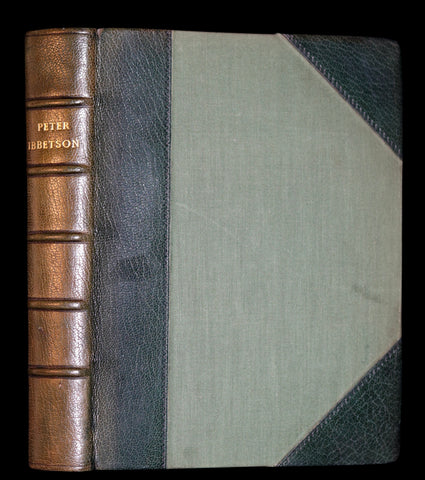 1896 Rare Book - Peter Ibbetson - A strange tale of Communication through Dreams by George Du Maurier.