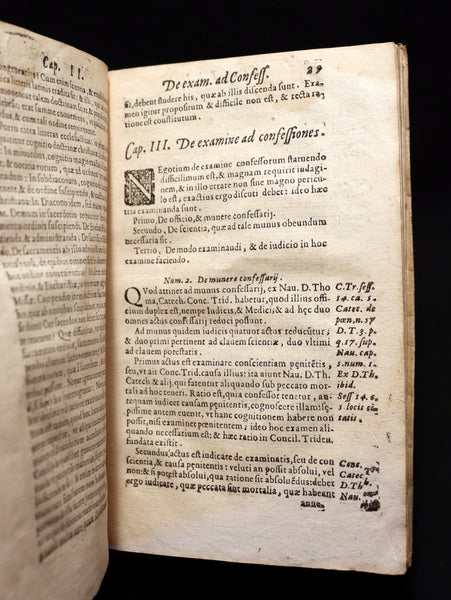 1603 Scarce Latin Vellum Book - Short Work to take care of SOULS by Giovanni Bellarini.