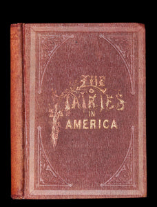 1859 Scarce Book - The FAIRIES IN AMERICA by Spencer W. Cone. Illustrated.