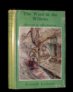 1950 Rare 1st Arthur RACKHAM Edition - The WIND IN THE WILLOWS by Kenneth Grahame.