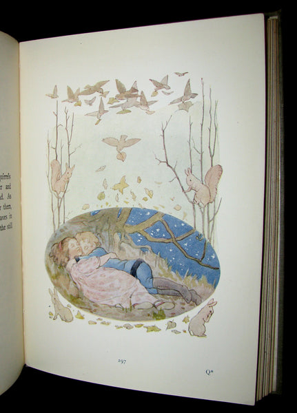 1922 Rare Book -  FAIRY TALES with 48 Coloured Plates By Margaret W. Tarrant
