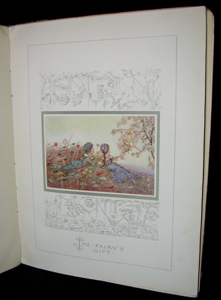 1910 Scarce Book - The Story of DULCIBELLA and the Fairies illustrated by Hilda T. Miller