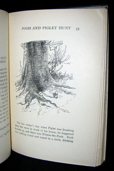 1926  First Edition - A. A. Milne & Ernest H. Shepard -  WINNIE-THE-POOH