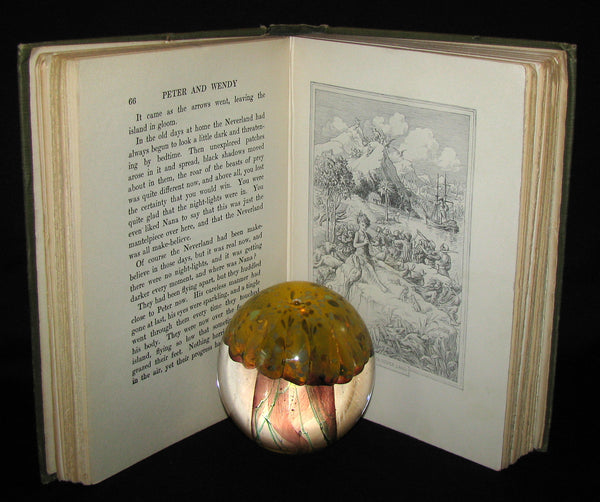 1911 Rare Book  - Peter Pan First Edition - Peter and Wendy by James Matthew Barrie