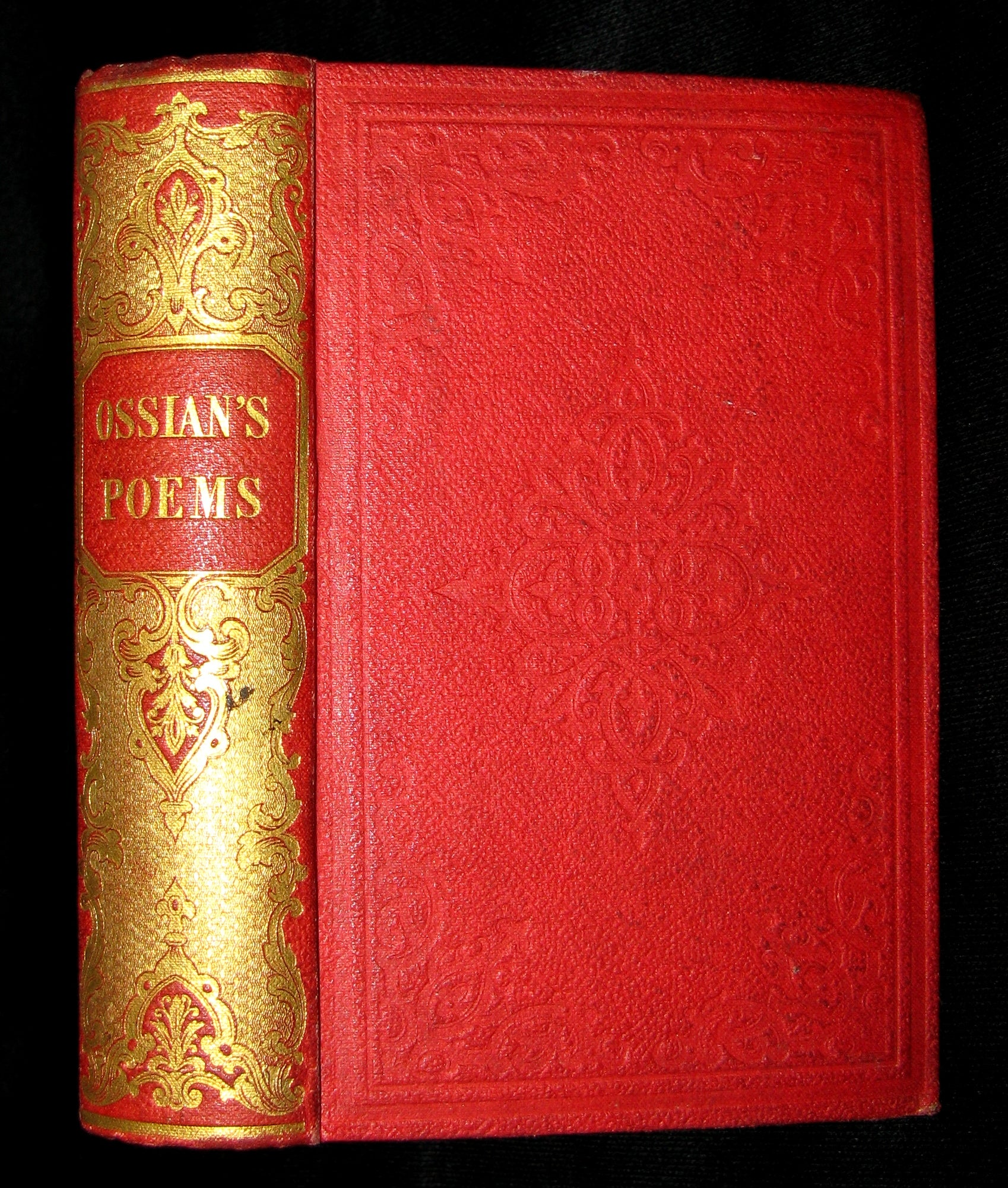 1845 Rare Book - The POEMS of OSSIAN by James Macpherson