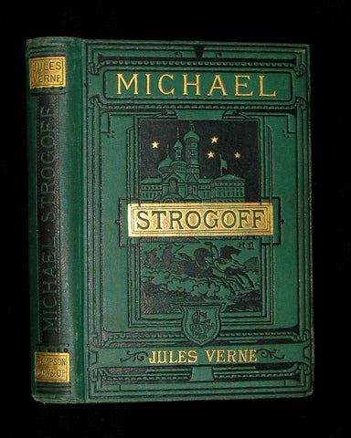 1885 Scarce Early Edition - Jules Verne - Michael Strogoff - The Courier Of The Czar