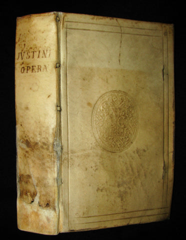1669 Rare Latin vellum Book - Justin's History of the Kings of Macedonia - Justinus cum notis selectissimis variorum.