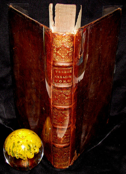 1650 Scarce 1stED Latin Book - Ussher Chronology -  James Ussher Annals of the Old Testament