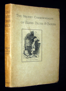 1893 Scarce Victorian Book - The Secret Commonwealth of Elves, Fauns & Fairies by Robert Kirk