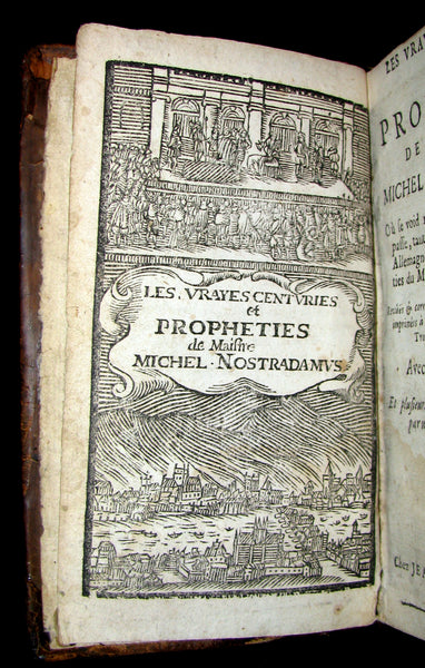 1689 Scarce French Book ~ NOSTRADAMUS ~ Les Vrayes Centuries et Propheties.