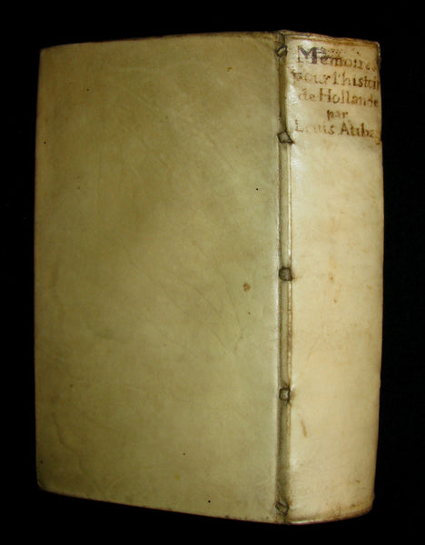 1680 Rare French Book -  History of Holland and other United Provinces