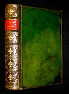 1866 Rare Victorian Book - THE LIFE & ADVENTURES OF ROBINSON CRUSOE