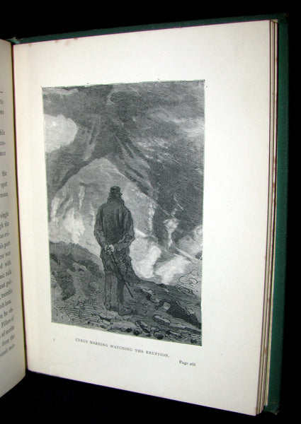 1879 Rare Third Edition - The Secret of the Island by Jules Verne. Illustrated.