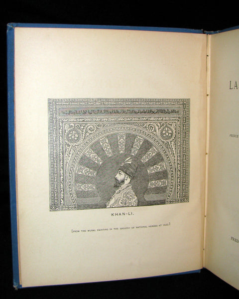 1891 Rare Precursors of Science Fiction Book - The Last American by J. A. Mitchell