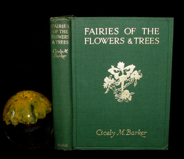 1950 Cicely Mary Barker First Edition - FAIRIES OF THE FLOWERS AND TREES