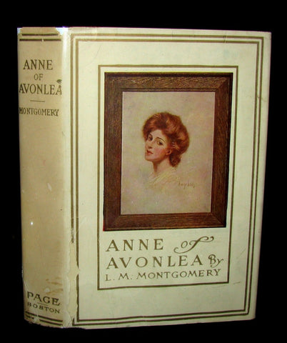 1946 Rare Edition with Dustjacket- ANNE of AVONLEA By L. M. Montgomery