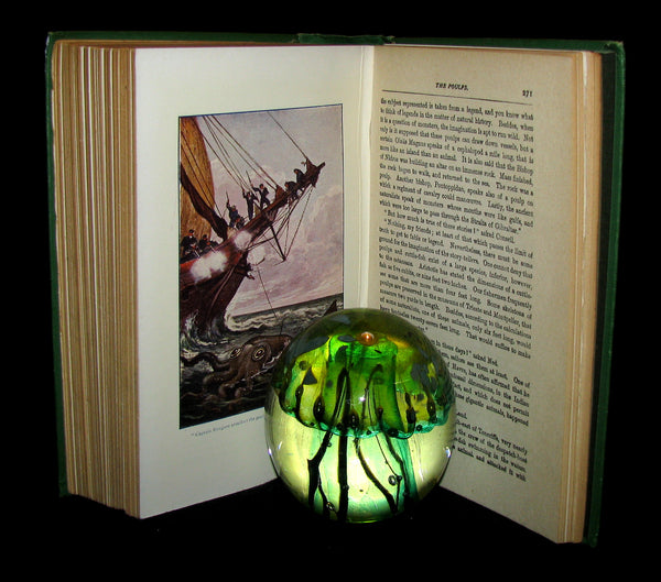 1900 Rare Book - Twenty Thousand Leagues Under the Sea by Jules Verne
