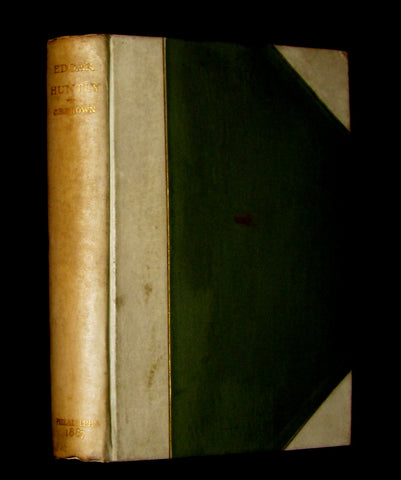 1887 Gothic Book - EDGAR HUNTLY OR THE SLEEP WALKER. #123/500 Limited Edition.