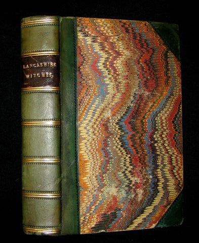1851 Rare Early Edition - THE LANCASHIRE WITCHES. A Romance Of Pendle Forest.