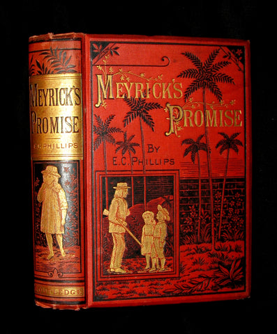 1881 Rare Book - Meyrick's Promise- Little Fugitives From The Jamaica Rebellion In 1865