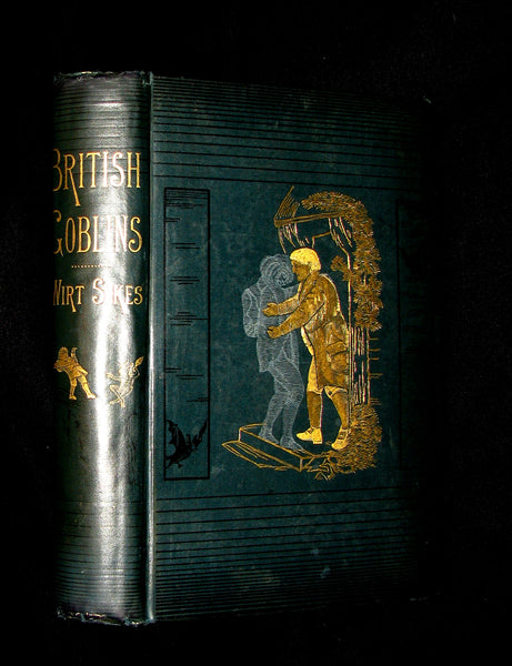 1880 Scarce Victorian Book - BRITISH GOBLINS: Welsh Folk-lore, Fairy Mythology.
